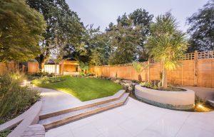 piekny, nowoczesny ogrod